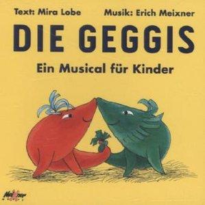 Die Geggis, Audio-CD
