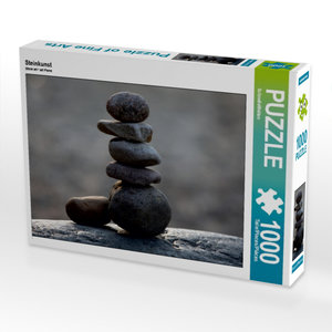 Steinkunst 1000 Teile Puzzle quer