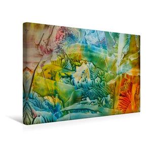 Premium Textil-Leinwand 45 cm x 30 cm quer Blütenträume