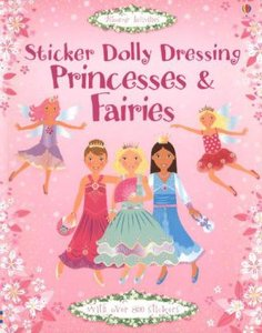 Sticker Dolly Dressing. Princesses and Fairies