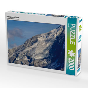 Gletscher at Ortler 2000 Teile Puzzle quer