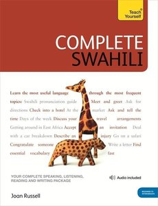 Complete Swahili Book/CD Pack: Teach Yourself