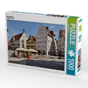 Marktplatz 1000 Teile Puzzle quer