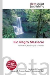 Río Negro Massacre