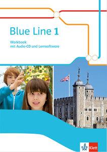 Blue Line 1. Workbook mit Audio-CD und Lernsoftware. Ausgabe 201
