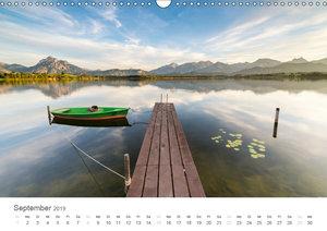 Alpine Seelandschaften (Wandkalender 2019 DIN A3 quer)