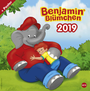Benjamin Blümchen Broschurkalender 2019