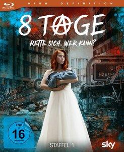 """8 Tage - Die komplette 1. Staffel \""""Rette sich. Wer kann?\"""""""