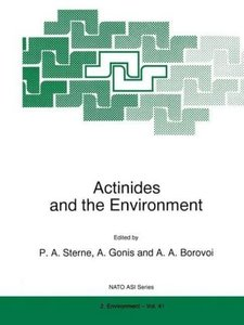 Actinides and the Environment