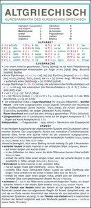 Griechisch (Altgriechisch) - Kurzgrammatik. Die komplette Gramma