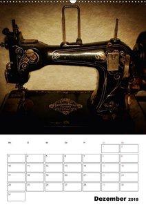 Stich für Stich-Ansichten einer alten Nähmaschine