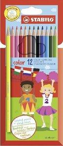 STABILO color 12er Kartonetui