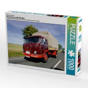Ein Motiv aus dem Kalender Klassische Lastkraftwagen 1000 Teile