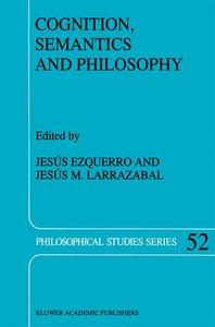Cognition, Semantics and Philosophy