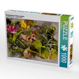 Beobachten bei Sonnenschein 1000 Teile Puzzle quer