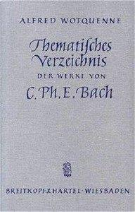 Thematisches Verzeichnis der Werke von Carl Philipp Emanuel Bach