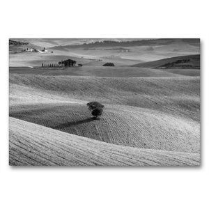 Premium Textil-Leinwand 90 cm x 60 cm quer Solitaire im Val d\'O
