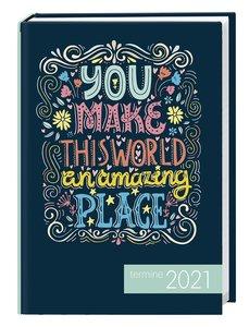 times&more Typo Kalenderbuch 2021