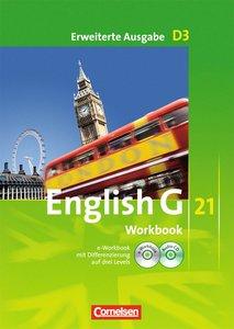 English G 21 - Erweiterte Ausgabe D 3. 7. Schuljahr. Workbook mi