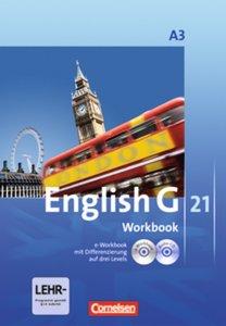 English G 21 - Ausgabe A 3. 7. Schuljahr. Workbook mit CD-ROM (e