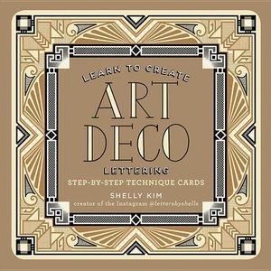 Stylish Art Deco Lettering Tin