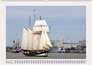 Bremerhaven ahoi - Großsegler auf der Weser