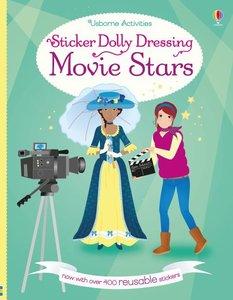 Sticker Dolly Dressing Movie Stars