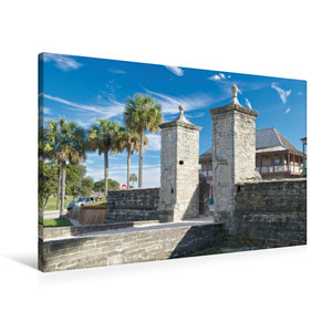 Premium Textil-Leinwand 90 cm x 60 cm quer St. Augustine