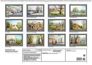 Ansichten aus Mitteldeutschland (Wandkalender 2019 DIN A2 quer)