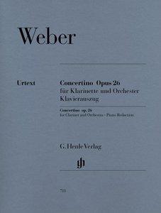 Concertino op. 26 für Klarinette und Orchester