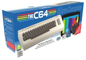 The C64 Maxi - Retro-Konsole inklusive 64 vorinstallierten Game