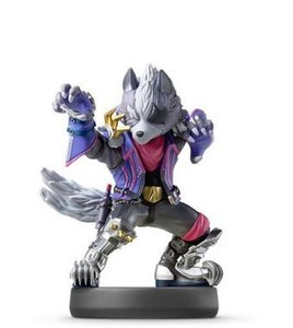 amiibo Wolf - Super Smash Bros. Collection, 1 Figur