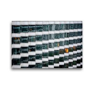 Premium Textil-Leinwand 45 cm x 30 cm quer Hong Kong; Harbour Pl