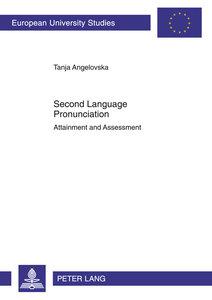 Second Language Pronunciation