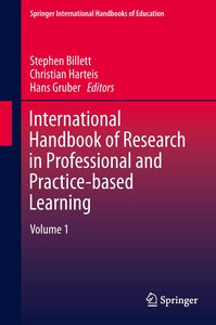 International Handbook of Research in Professional and Practice-