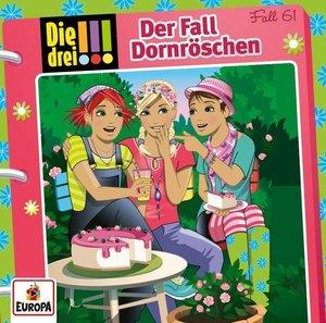 Die drei !!! 61: Der Fall Dornröschen, 1 Audio-CD