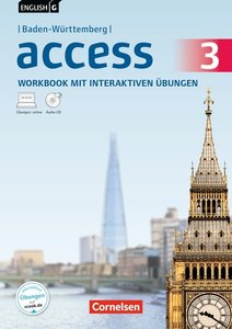 English G Access Band 3: 7. Schuljahr - Workbook mit interaktive