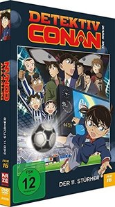 Detektiv Conan - 16. Film: Der 11. Stürmer - DVD