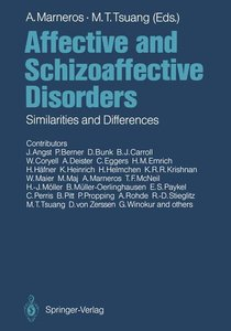 Affective and Schizoaffective Disorders