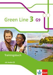 Green Line 3 G9. 7. Klasse. Trainingsbuch mit Audio-CD