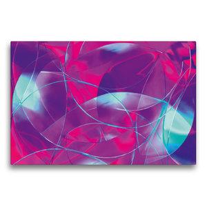 Premium Textil-Leinwand 75 cm x 50 cm quer Luftträume