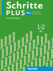 Schritte plus Neu 1+2. Testtrainer mit Audio-CD