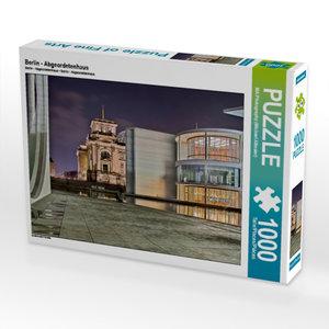 Berlin - Abgeordetenhaus 1000 Teile Puzzle quer