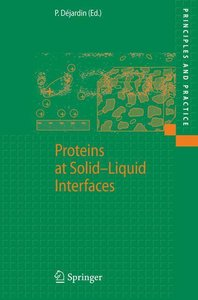 Proteins at Solid-Liquid Interfaces