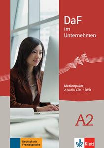 DaF im Unternehmen A2 - Medienpaket (2 Audio-CDs)