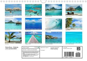 Bora Bora - Strände und Landschaften (Wandkalender 2020 DIN A4 q