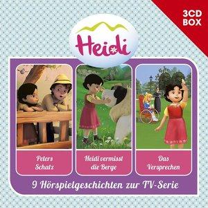 Heidi-3-CD Hörspielbox Vol.2 (Cgi)