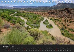 Treasures of New Mexico (Tischkalender 2019 DIN A5 quer)