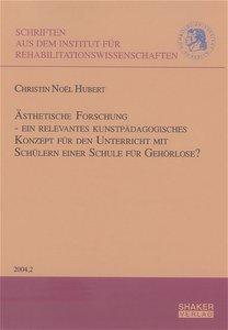 Ästhetische Forschung - ein relevantes kunstpädagogisches Konzep