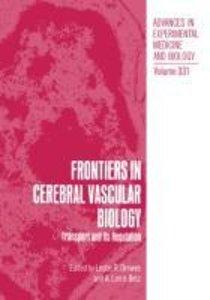 Frontiers in Cerebral Vascular Biology